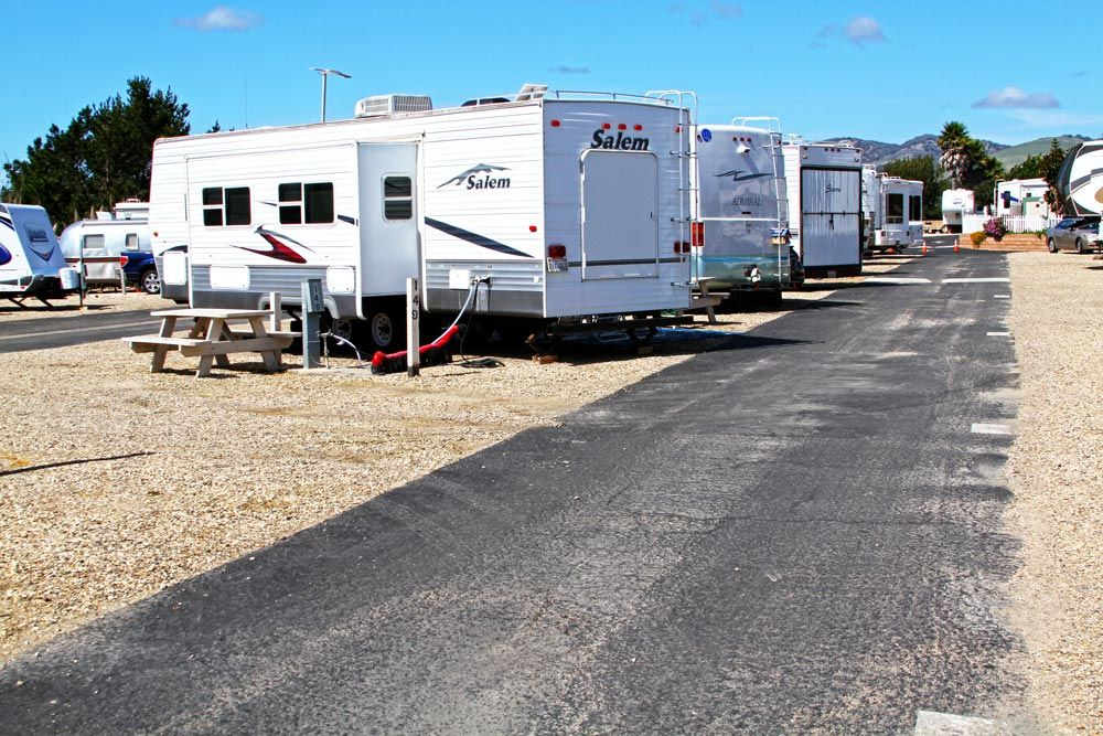 Le Sage Riviera RV Park sites have everything you'll need.